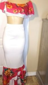Two piece skirt sets